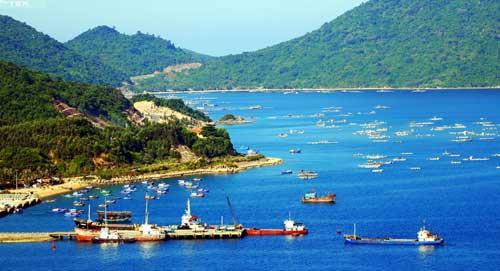 Biển Vũng Rô - vẻ đẹp kỳ vĩ - Pháp Luật Môi Trường Điện Tử